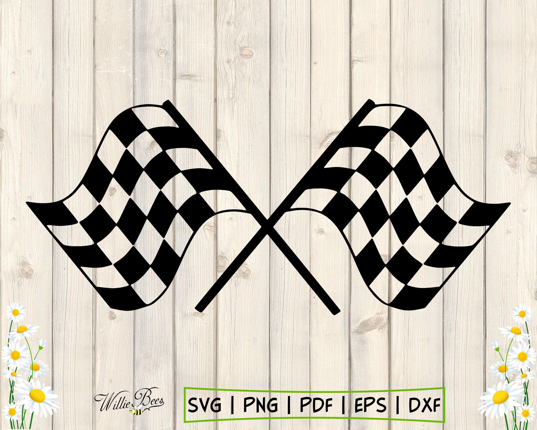 Racing Flag Svg Race Car Flag Svg Checkered Flag Svg Racing Etsy Car Flags Black And White Flag Nascar Flags