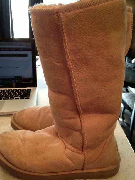 ugg boots Classic tall II rosa