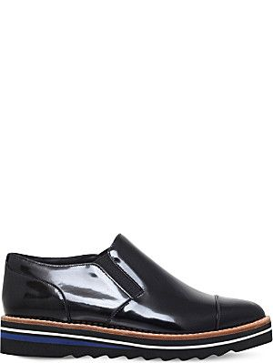 3350613f20f VINCE Alona patent-leather Oxford shoes