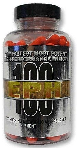 EPH 100 by Delta Health/Hard Rock Supplements 100 Capsules