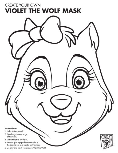 Take This Violet Coloring Page On Your Family Trips To Keep Kids