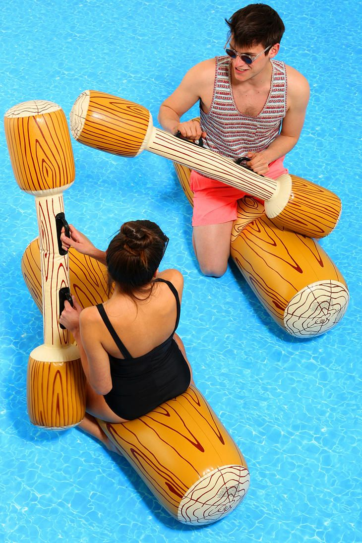 joust pool float game pool games gaming and lakes