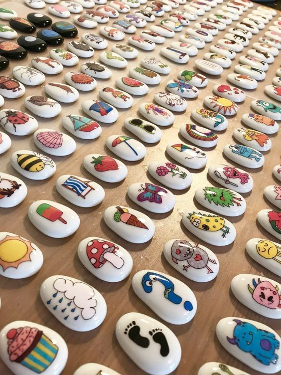 Meet the Mum Behind the Maker - Mel from My Story Stones Rock - #rockpainting