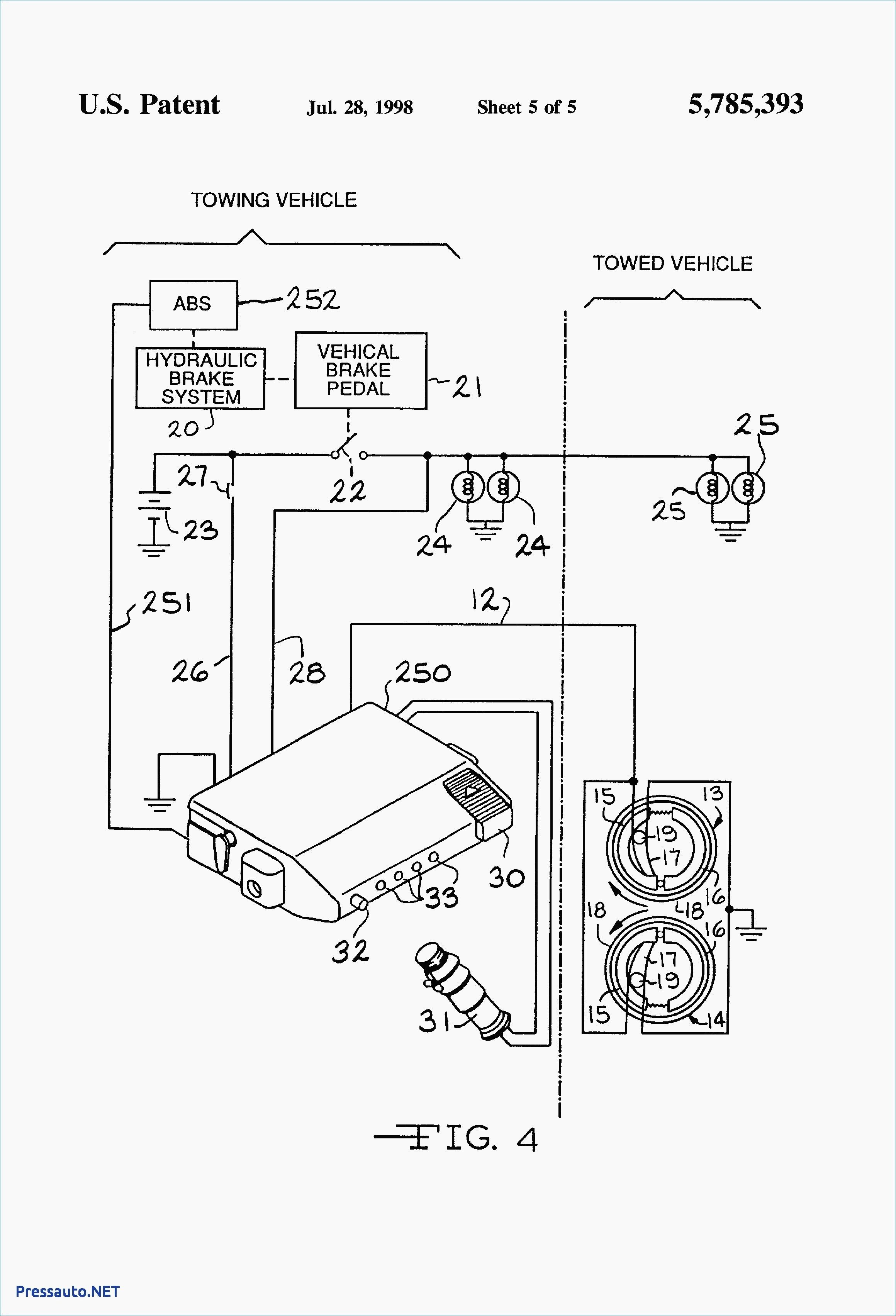 Basic Electric Trailer Brake Wiring Diagram