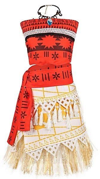 Moana-Inspired Costume (for children/tweens) Halloween Costumes