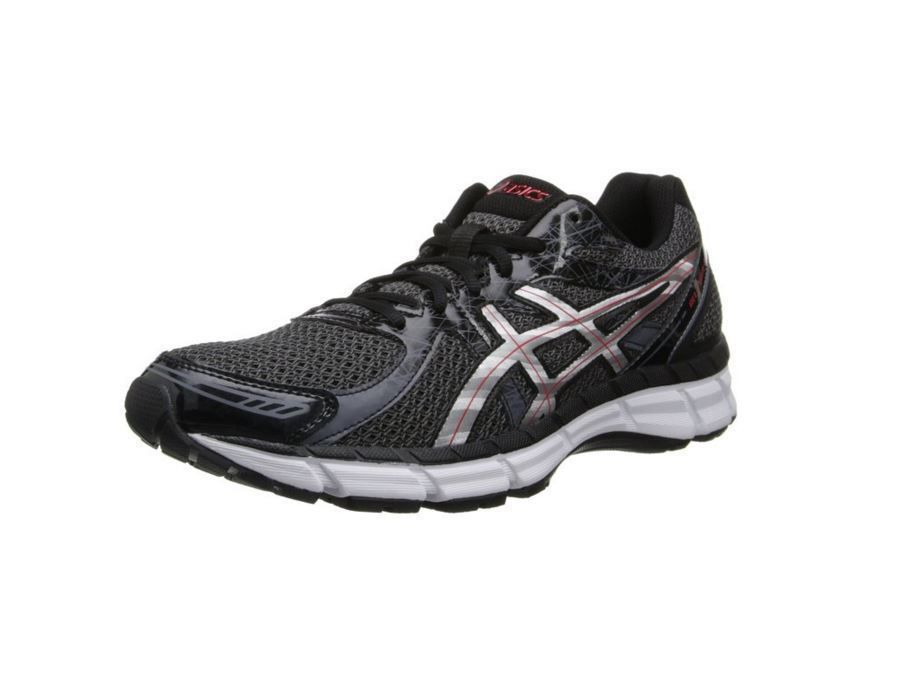 Black · New Asics T423N-9091 Gel-Excite 2 Black / Red Mens Running Shoes  Size