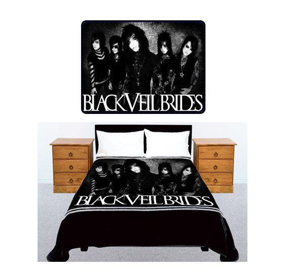 Black Veil Brides Twin Bed Sheets