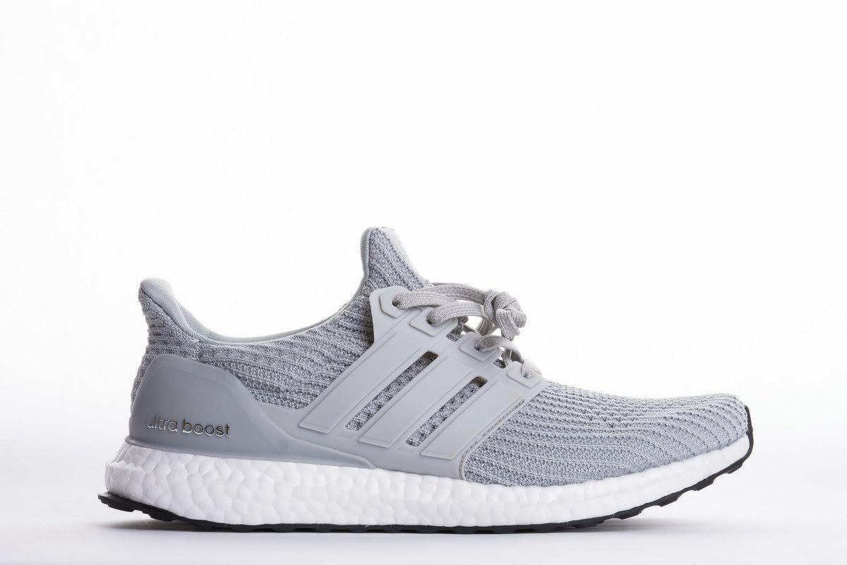 "Best Price Adidas Ultra Boost 4.0 ""Light Grey"" BB6167 Real"