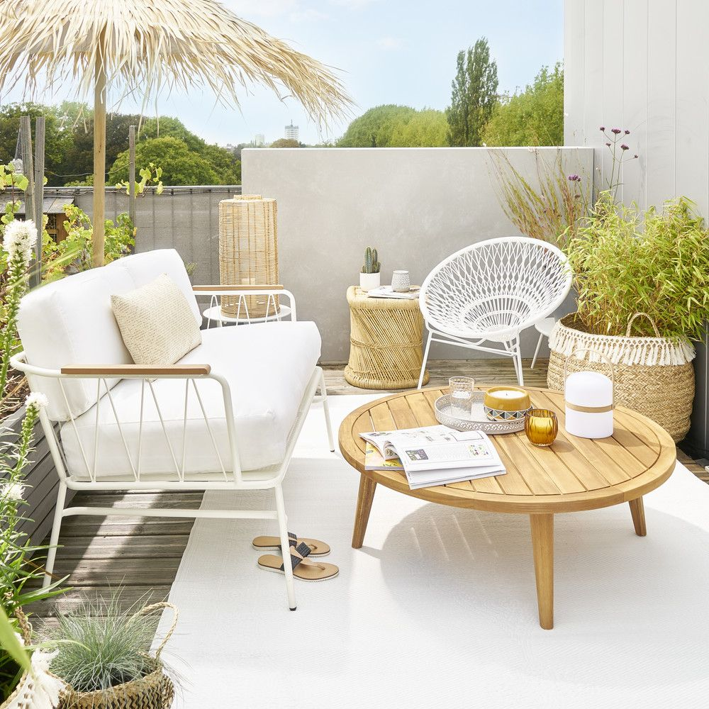Salon De Jardin Ibiza Outdoor Furniture In 2019 Balcony Garden Coffee Table Garden