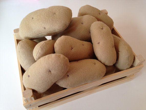 Felt Potato