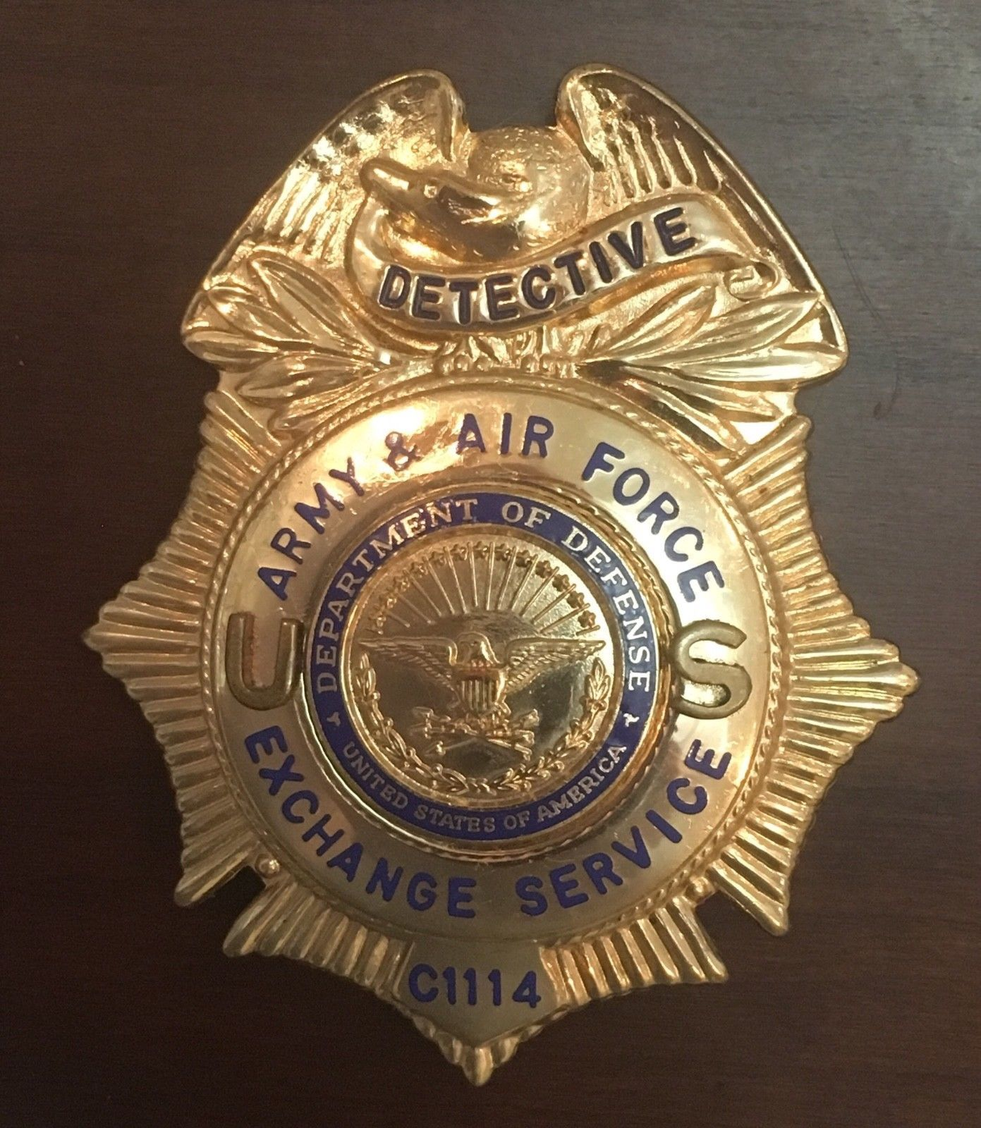 Detective, Army & Air Force Exchange, DoD (Blackinton) | Law