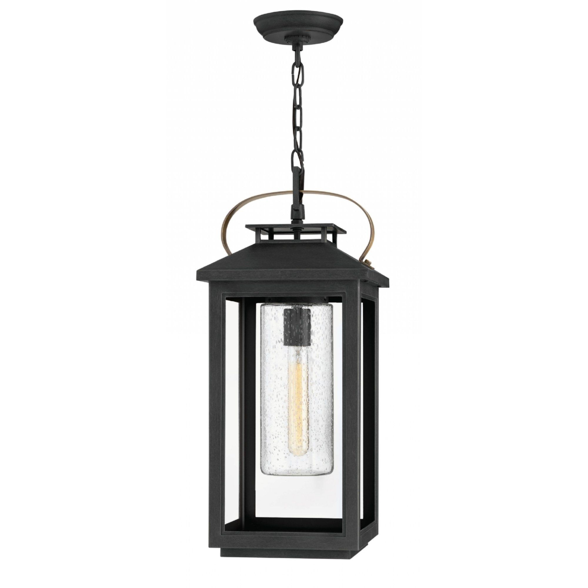 Hinkley Atwater 1 Light Outdoor Pendant In Black Hinkley Lighting Outdoor Hanging Lights Outdoor Hanging Lanterns Hanging Lights