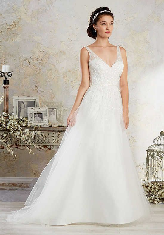 Alfred Angelo Modern Vintage Bridal Collection 8572 A Line Wedding Dress