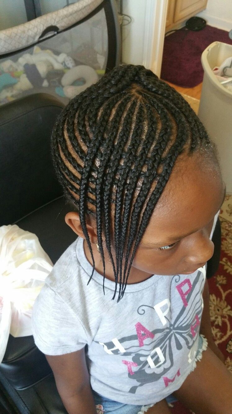 Kids Cornrow With Images Kids Braided Hairstyles Girls