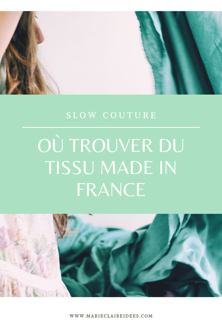 5 adresses ou trouver du tissu Made in France
