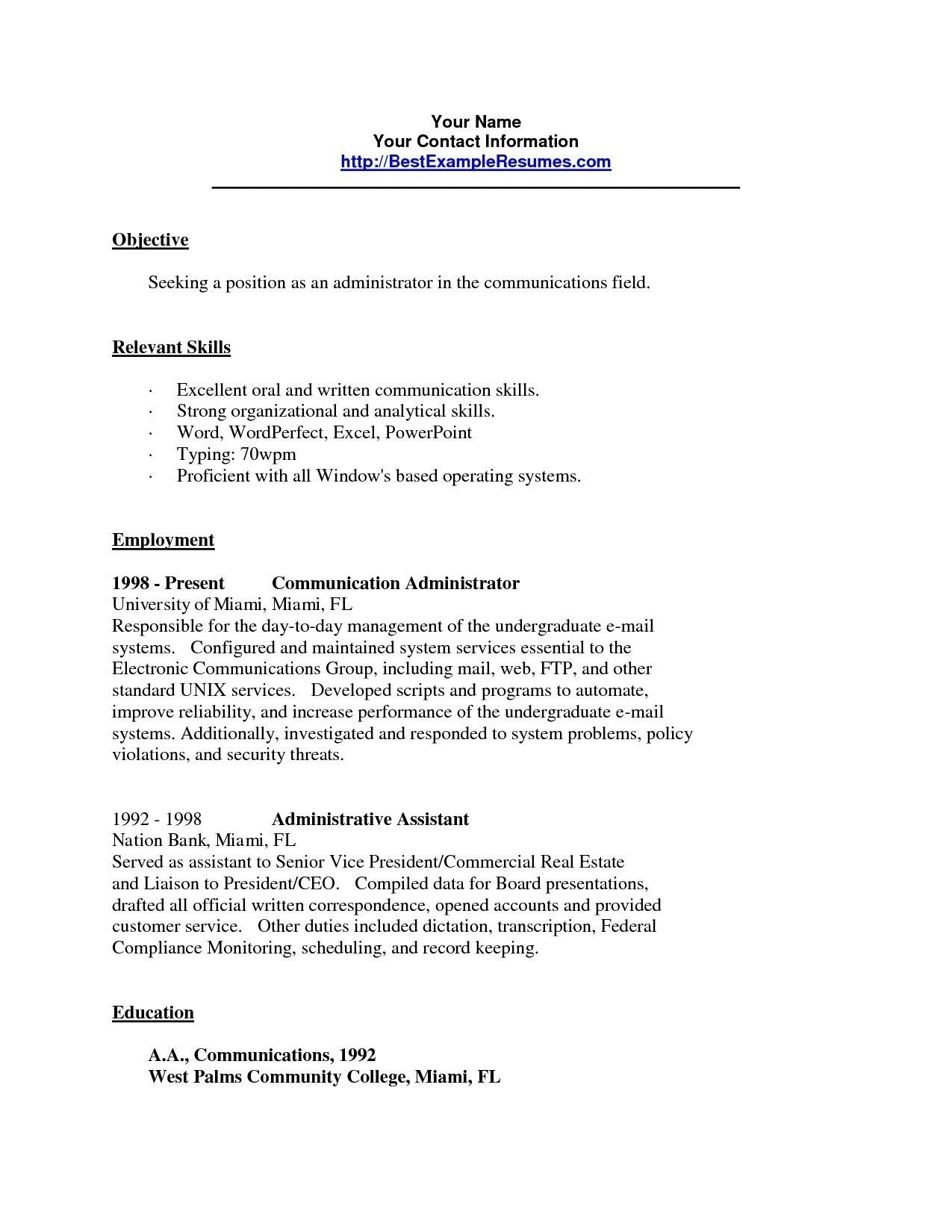22+ Resume words for language skills Format