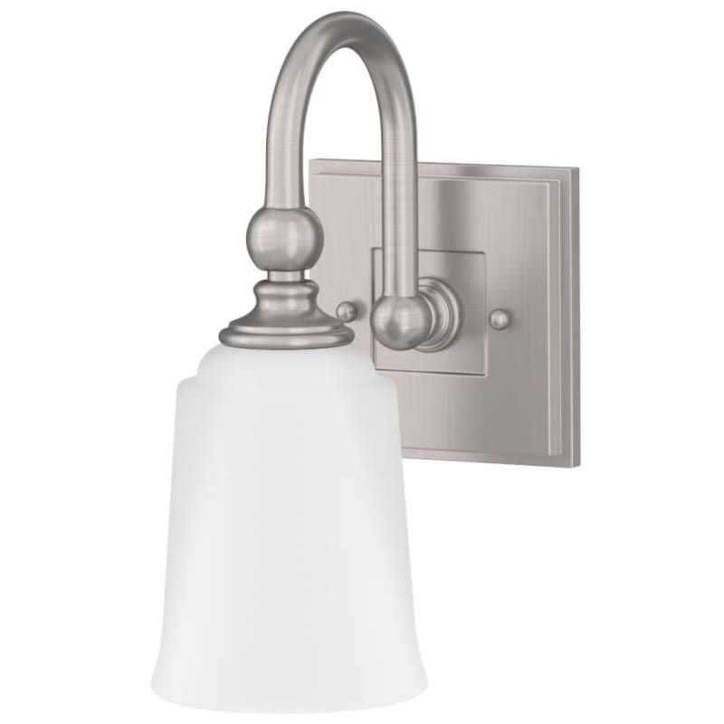 Photo of Miseno ML4694VL Waveland Single Light 11″ Tall Bathroom Sconce Brushed Nickel Indoor Lighting Bathroom Fixtures Bathroom Sconce
