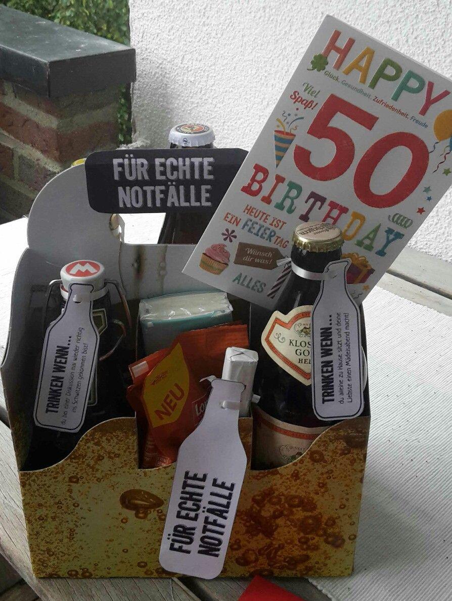 Geburtstagsgeschenk für den Mann. 50. Geburtstag