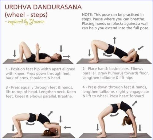 pingabbi girl on yoga effective exercises and