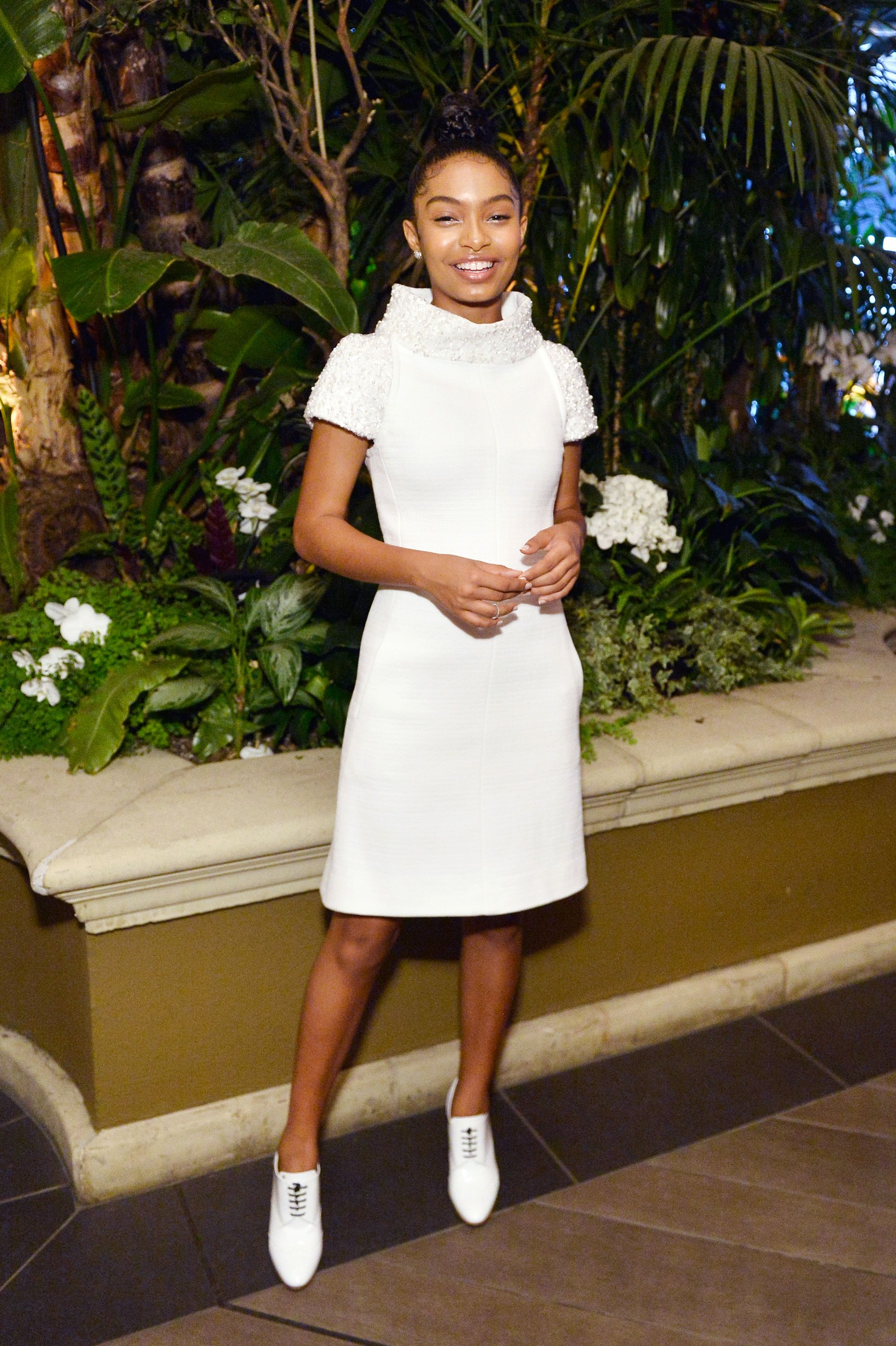 Evidence That Yara Shahidi's Style Game Was Totally On Point In 2017 | Holiday party outfit ...