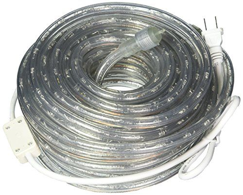 50ft 120v Cool White Super Bright Led Rope Light Directlighting Heavy Duty Pvc Clear Rope Lights Tube 12 Expandable Direct Lighting Rope Lights Led Rope Lights