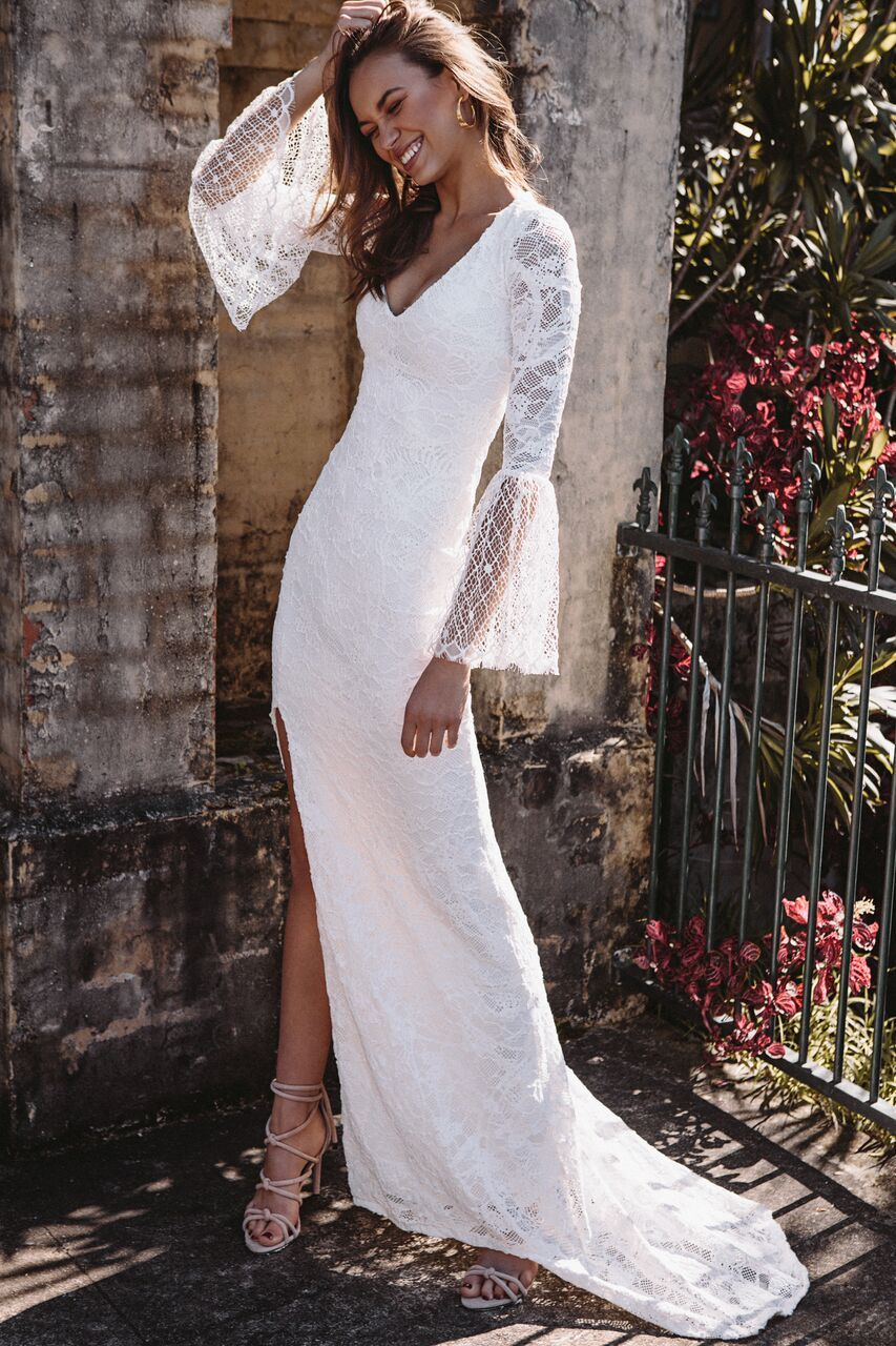 Courtesy of Grace Love Lace wedding dresses; Photo: Louise Smit ...
