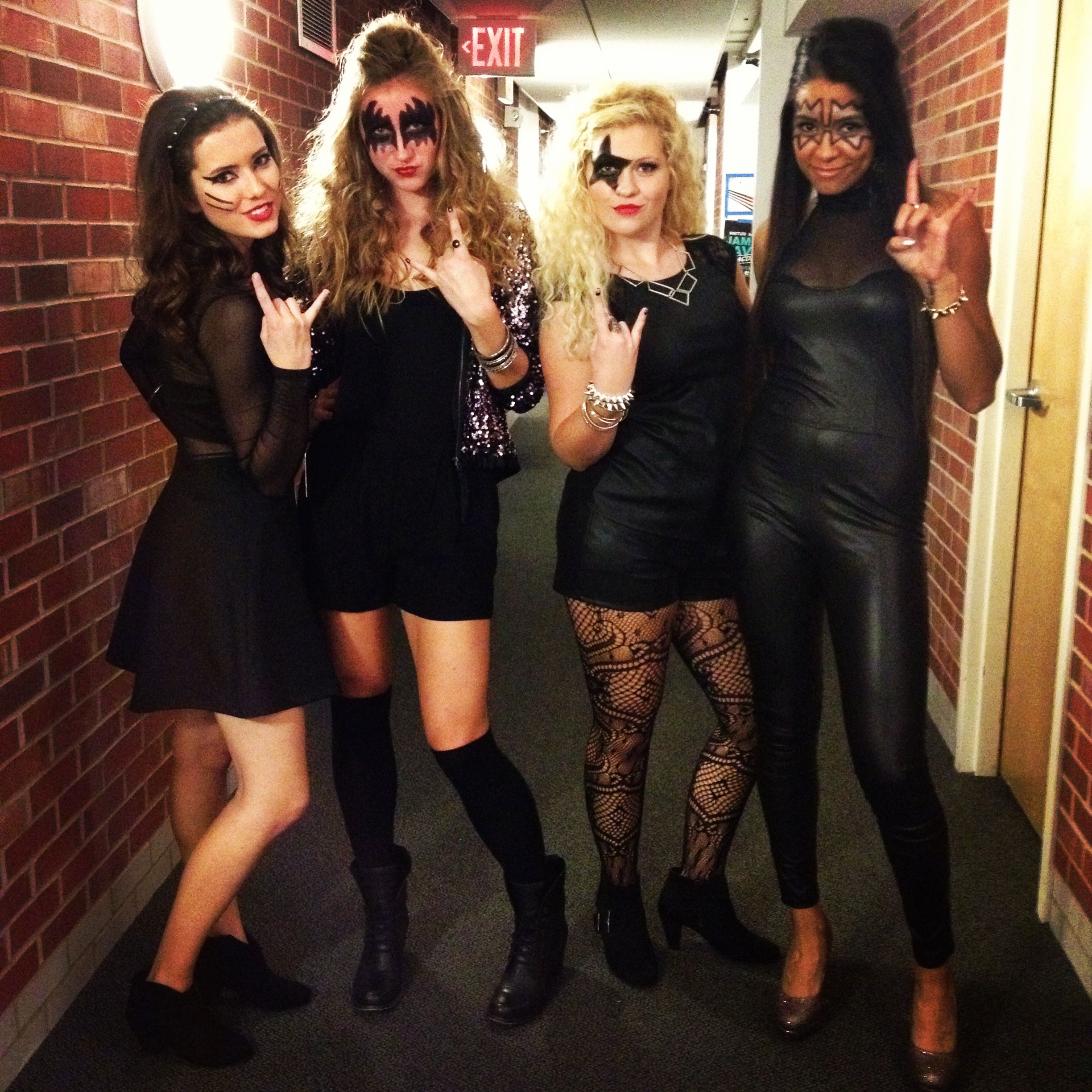kiss girls group halloween costume | all things. | pinterest
