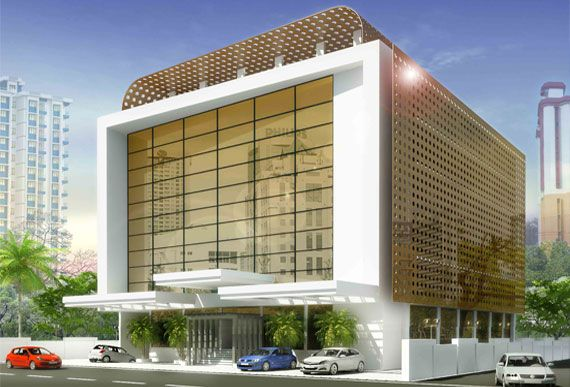 Commercial Building For Mr.Francis Alukka Top Architecture Firms In Kerala