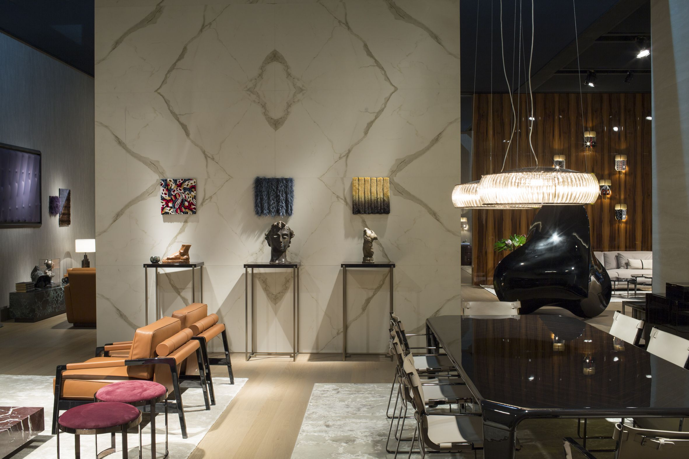 Mobili Fendi ~ A look at the new fendi casa collection displayed at salone del