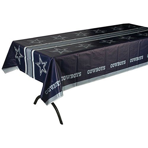 Dallas Cowboys Plastic Table Cover Tailgate 54 x 102 -- Be sure to check out this awesome product.