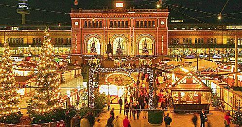 Hannover Weihnachtsmarkt.Weihnachtsmarkt Hannover Germany Weihnachtsmarkt