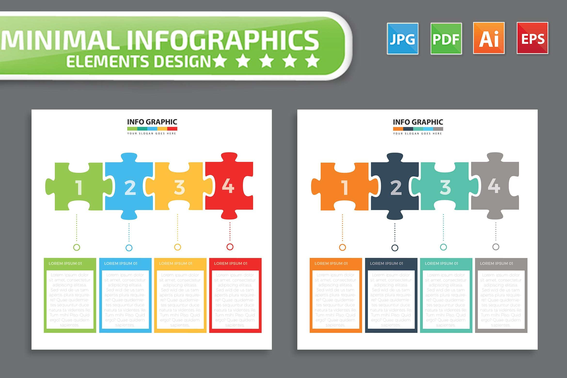 Puzzle Infographic Design By Mamanamsai On Envato Elements Infographic Design Infographic Graphic Design Infographic