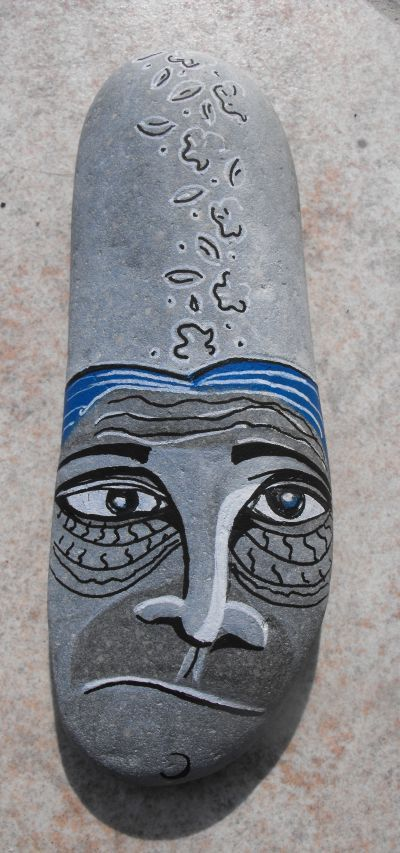 Galets Peint Face Painted Stone Rolling Rocks Galets