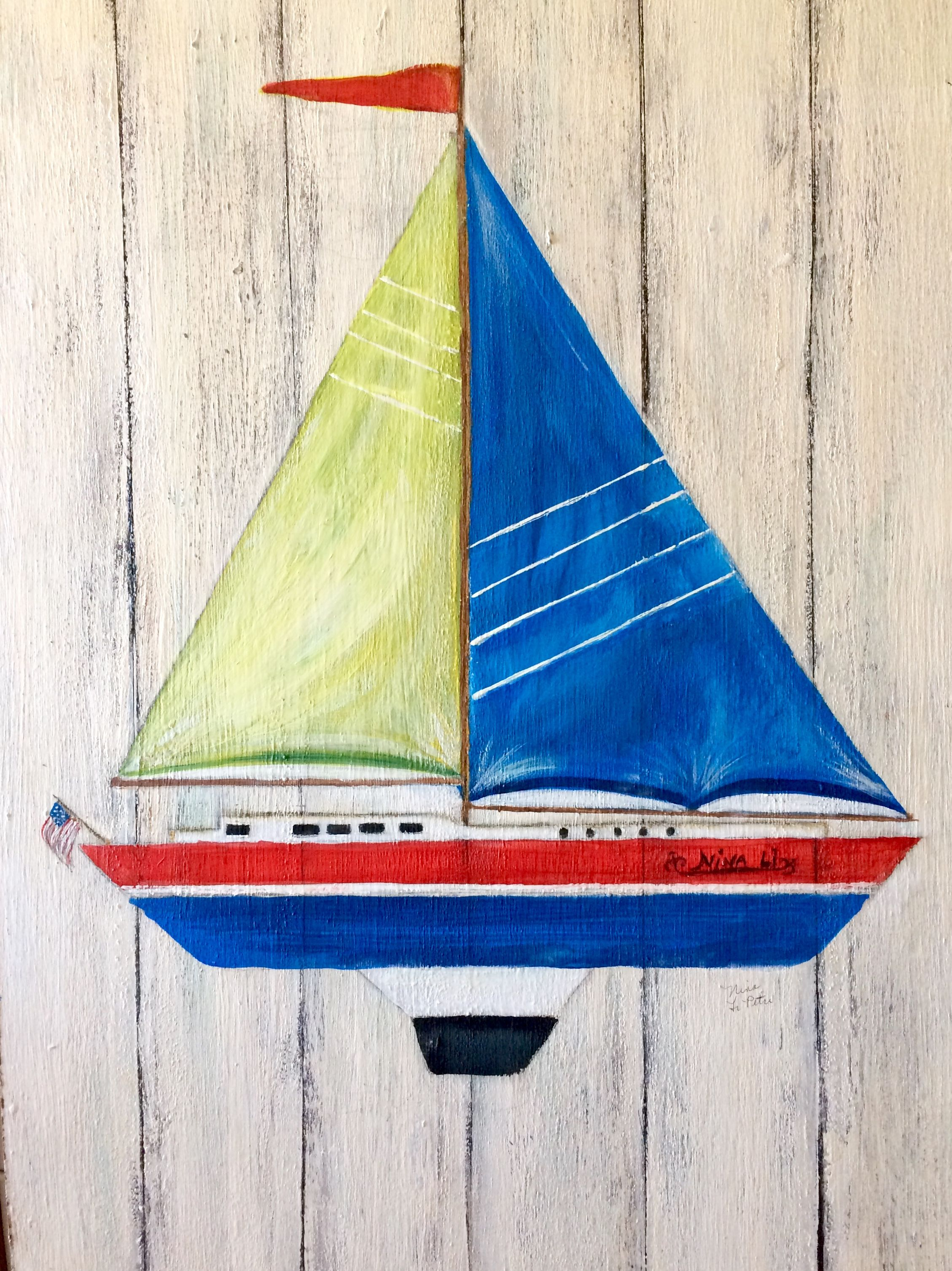 Sailboat With Images My Drawings Painting Art