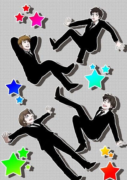 Tags: Pixiv, The Beatles, Paul Mccartney, George Harrison