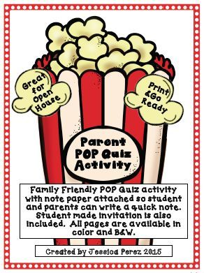 This Activity Is Great For Open House Curriculum Night Or Back To