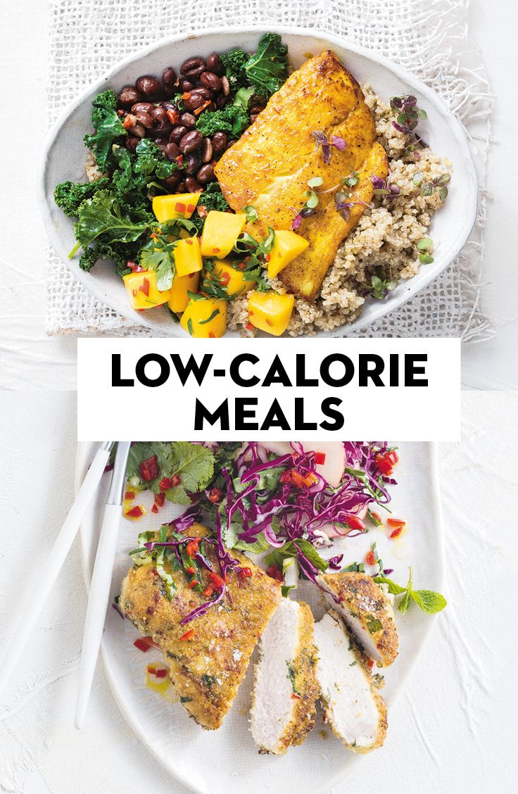Lowcalorie meals that are still full of flavour meals