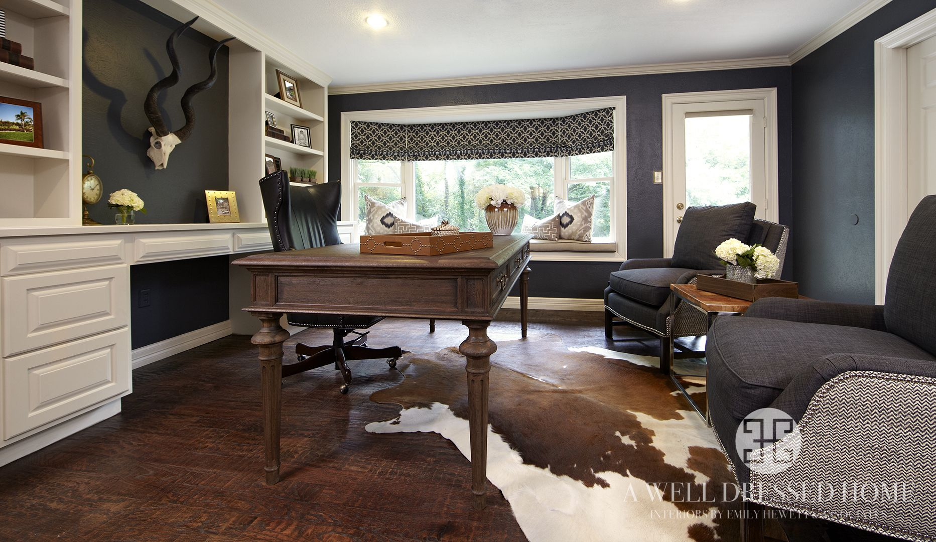 Kling Masculine Home Office After | Ideas for the House | Pinterest