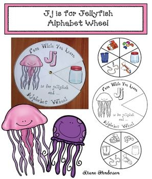 Dollar Deal Alphabet Wheels, are a quick, easy & fun way to practice letters, and build the vocabulary needed to give an example of a word, with that beginning sound. They feature 7 nouns that begin with that letter, and come in black & white, as well as full-color, so that you can use a colorful one for an independent center and use the black & white pattern for a whole-group or individual word work activity, where kiddos make their own.
