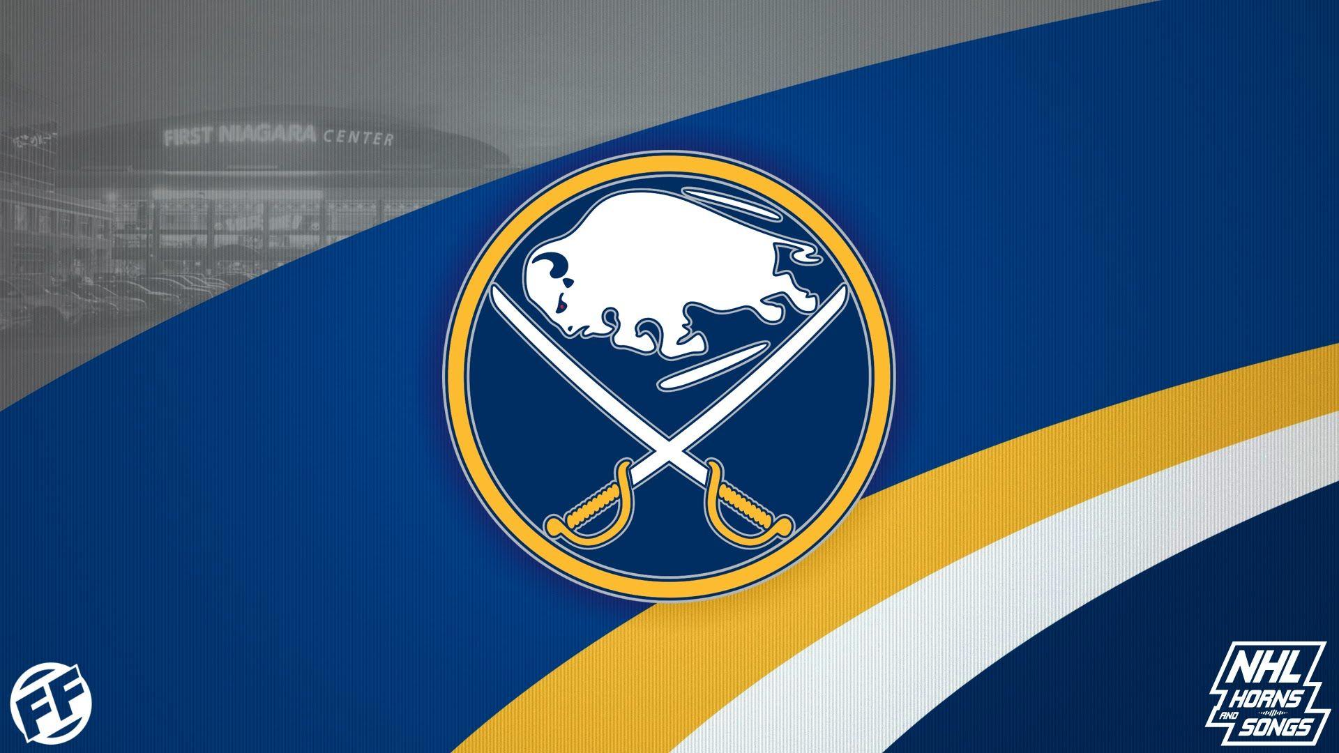 Buffalo Sabres 2015 2016 Goal Horn Buffalo Sabres Nhl Logos Nhl