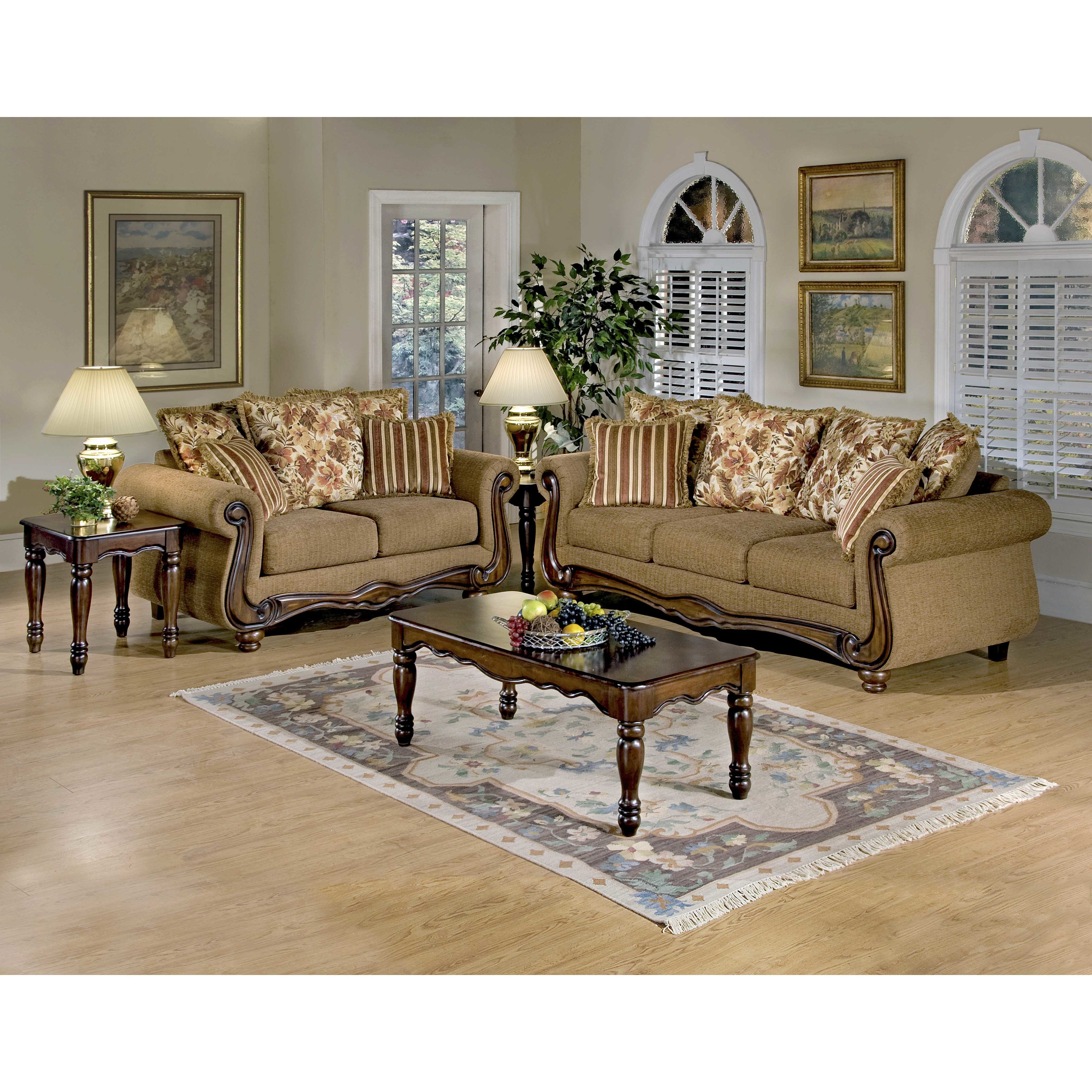 Serta Upholstery Living Room Collection Part 5