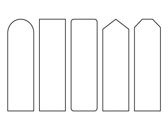 Resultado De Imagem Para Bookmark Template  Marcador Libros