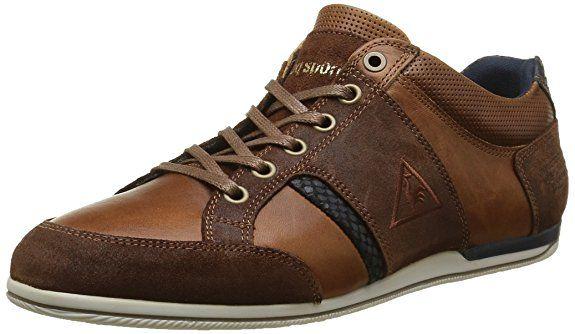 ANTOINE LOW, Herren Hohe Sneakers, Schwarz (BLACK), 45 EU Le Coq Sportif