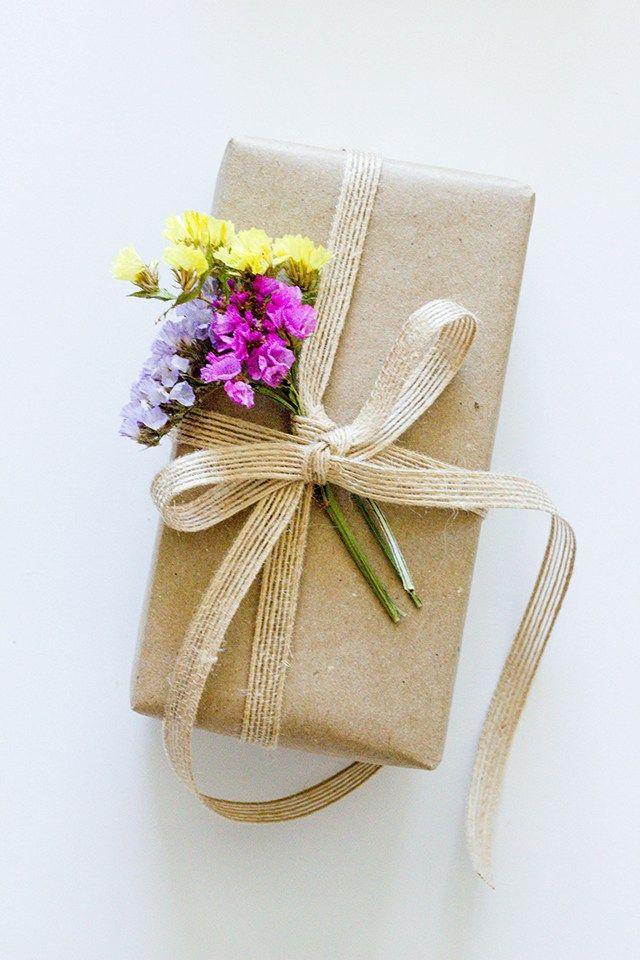 Spring flowers on brown paper packaging pinterest brown paper spring flowers on brown paper mightylinksfo