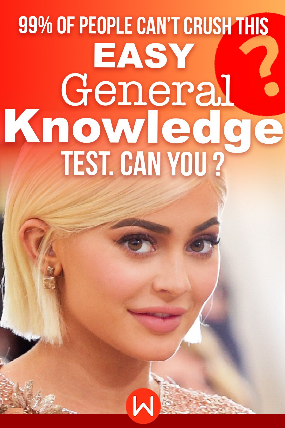 Quiz: 99% Of People Can't Crush This Easy General Knowledge Test Can