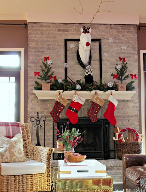 Decoraci n navide a calcet n de navidad navidad - Calcetin de navidad ...