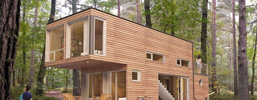 Casas hechas con contenedores ecologicas economicas casa - Transformar contenedor maritimo vivienda ...