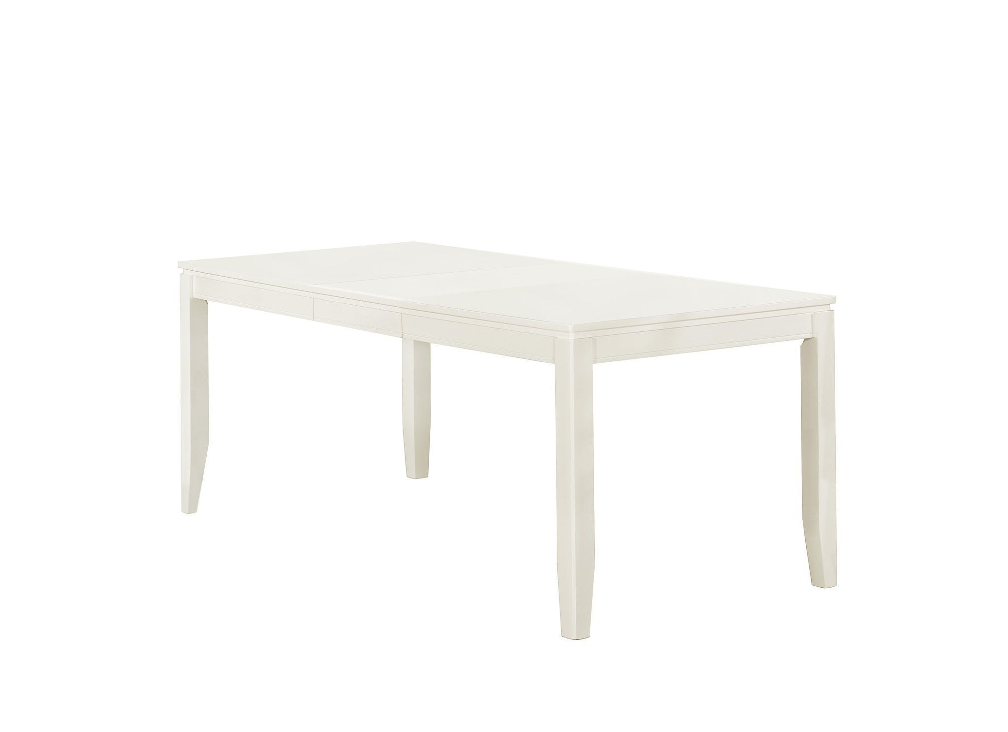 "Pearl White Veneer 36""X 60""X 78"" Dining Table"