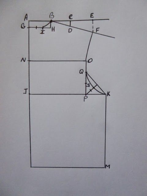 Drafting The Basic Back Bodice, Master Sewing and Design Program ...
