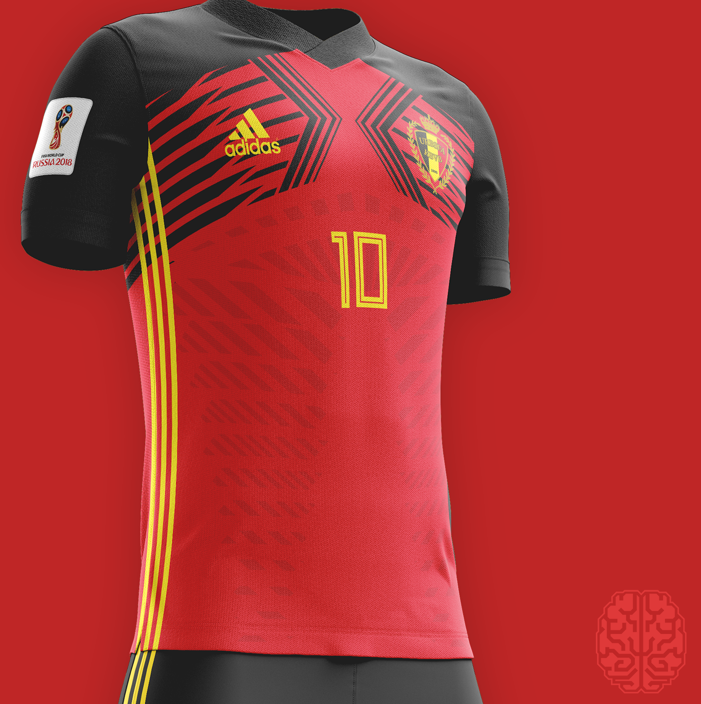 Fifa World Cup 2018 Kits Redesigned On Behance Sports Jersey Design Sports Shirts Soccer Shirts